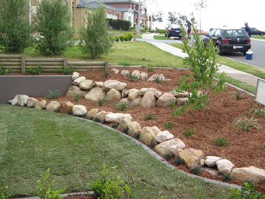 Edge Garden Landscape Rocks : Living edge landscapes of sydney australia gardens and